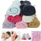 100X80cm Cotton Baby Cellular Soft Blanket Cot Bed Mosses Crib Pram Basket NEW