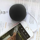 3.5mm Sponge Balloon Ball Portable Mini Music Speaker For Cellphone Pc Car Sa