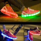 Dextrous Fashion Unisex LED Light Luminous Shoes USB Rechargeable Sneaker Shoes