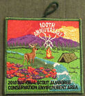 2010 National Boy Scout Jamboree Conservation Environment Area Patch MINT! Jambo