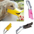 Pet Supplies Dog Muzzle Duckbill  Duck Face Lip Adjustable Mouth Plastic -  CB