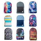 New Spiral Pattern OG Grass Roses Tie Dye Tropical City Backpack