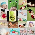 Baby Girl Boy Knit Clothes Newborn Photo Crochet Costume Photography Prop Outfit