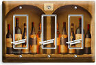 TUSCAN KITCHEN WINE BOTTLES CELLAR LIGHT SWITCH OUTLETS WALL PLATE COVER DECOR