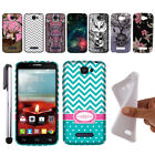 TPU Soft SILICONE Case Cover FOR Alcatel One Touch Fierce 2 7040T A564C + PEN
