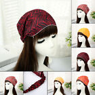 NEW Women striped wide Bandanas Head wrap girl turban Hair Band floral Headband
