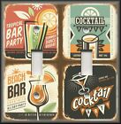Light Switch Plate Cover - Vintage Bar Signs - Cocktails - Bar Home Decor