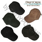 1-DRIFT CREEK OUTDOORS HEADWEAR-HAT OILSKIN COTTON OIL CLOTH CROWN ADULT SIZE