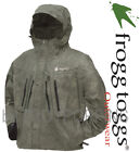 FROGG TOGGS RAIN GEAR-TT6405-05 MENS TEKK TOAD STONE JACKET FLY FISHING NEOPRENE