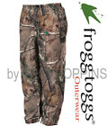 FROGG TOGGS RAIN GEAR-PA83102-54 PRO ACTION PANTS AP-XTRA CAMO DEER HUNTING WET