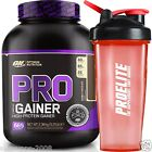 Optimum Nutrition ON Pro Complex Gainer 2.37kg PROTEIN MUSCLE MASS GAIN + Shaker