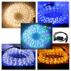 10m-50m LED Lichterschlauch Lichterschlauch Lichterkette Schlauch Strip Deko Set