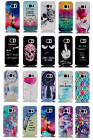 Multi-Coloured Plastic Hard Case Fitted Back Cover Fr Samsung Galaxy Top Selling