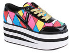 CUTE TO THE CORE CTTC KARAZU PLATFORM PUNK TRAINERS SHOES SIZE 3-8 RRP £55 NEW