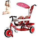 Hot Baby Twins Umbrella Stroller Comfy Double Seats Trike Ride-On Pram Buggy NEW