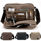 Casual Men's Messenger Bag Canvas Crossbody Shoulder Bags Travel Style Bag