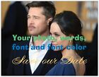 30 50 100 Personalized PHOTO Font COLOR ANY EVENT Save Date 5.5 x 4 MAGNETS Env