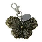 Large moth custom engraved / personalised keyring with gift pouch - BR345