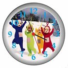 TELETUBBIES ROOM DECOR WALL CLOCK NEW