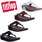FitFlop  The Skinny  Leather Toe-Post Urban White Size UK 3 - 8