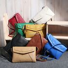 Women PU Leather Small Shoulder Handbag Crossbody Messenger Bag Satchel Purse AU