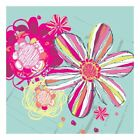 Oopsy Daisy Eclectic Flowers Canvas Art