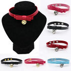 CHIC Punk Faux Leather Collar Choker Necklace Gothic Neck Ring 80 90's New Gift