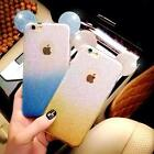 3D Mickey Mouse Ears Candy Gradient Soft phone Case Cover For iphone 6 6s plus
