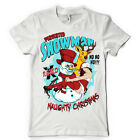 PERVERTED SNOWMAN NAUGHTY CHRISTMAS DTG. full colour t SHIRT