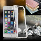 Crystal diamond Mixed Transparency TPU Soft skin Case Cover For Iphone 6/6S Plus