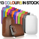 NEW PULL TAB PU LEATHER POUCH COVER CASE *only* fits SAMSUNG GALAXY YOUNG 2.