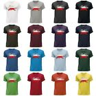 STUFF4 Men's Round Neck T-Shirt/Poland/Polish Flag Splat/CS