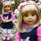 "Masterpiece Rory Blonde Monika Levenig 34"" Full Vinyl Doll, In Stock"