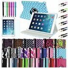 360 Stand Smart Rotating Folio Leather Case Cover For Apple iPad Air 5th 5 New