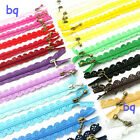 10Pcs 20cm Multicolor Nylon Closed End Lace Zipper for Clothing LA