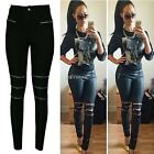 Lady Women's High Waist Skinny Jeggings Stretchy Pants Pencil Leggings Trousers