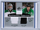 13/14 SP GAME USED AUTHENTIC FABRICS DUAL JERSEY CARDS (AF2-XX) U-Pick From List