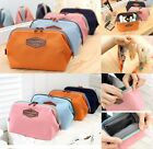 Women's Multifunction Travel Cosmetic Bag Makeup Case Pouch Toiletry 4Colors New