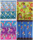 Childrens Character Shower Curtain - Boys Girls Bathroom Spongebob Mario Pony