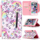 Pony Design Wallet Flip Leather case for Iphone 4 5 6S Samsung S7 edge LG Huawei