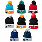 New Era NFL NHL Team Cuff Bobble Knit