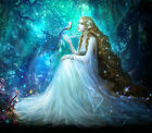 Canvas Modern Prints oil painting art Home decor (No Frame) Anime beauty pic24