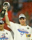 Peyton Manning Indianapolis Colts Super Bowl Trophy Photo SS217 (Select Size)