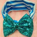 Baby Girls Hair Band Sequined Bow Headband Turban Knot Hair Accessories