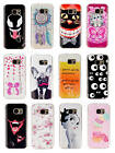 1xFor Huawei Lenovo Pictorial Rubber Soft TPU Silicone Excellent Back Case Cover