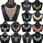 CHIC Fashion Women Jewelry Pendant Chain Choker Chunky Statement Bib Necklace