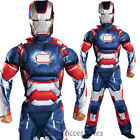 CK689 Patriot Muscle Iron Man Avengers Kids Super Hero Fancy Boys Child Costume