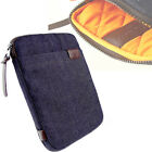 Denim Padded Case Cover For All Apple iPad 2 3 4 5 Air 2 iPad Pro Retina MacBook