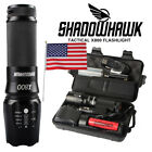 Super bright 20000lm Flashlight L2 LED Military Tactical Torch 18650 camping