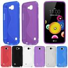 For LG K4 LTE / Spree S-Line Rubber Soft Gel TPU Silicone Case Skin Cover
